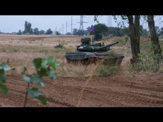 танк Т-90, перезарядка и выстрел