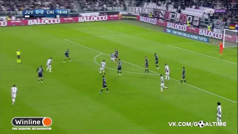 ГолТВ рф Ювентус Кьево 2 0 Обзор матча Италия Серия А