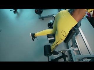 Маргарита Бойко - Моя идеальная тренировка ног и ягодиц,когда я никуда не тороплюсь