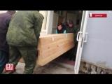 убитого террориста днр с позывным децл привезли в екатеринбург
