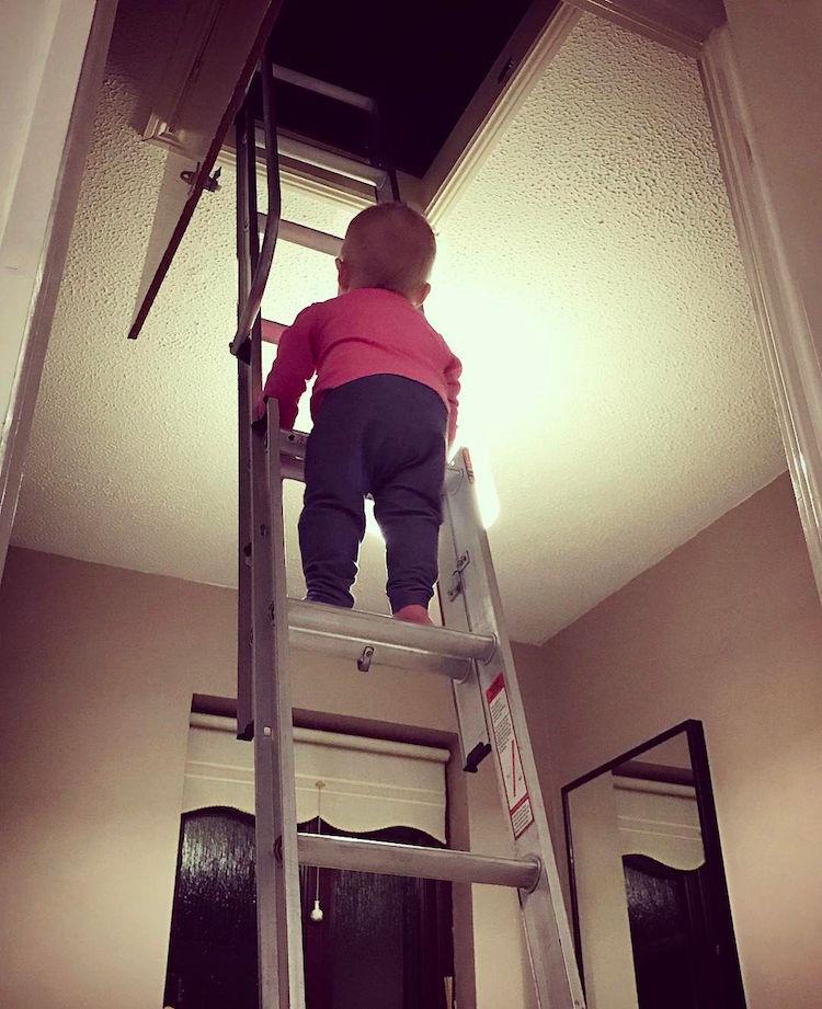 Малыш не стал героем смертельно опасной фотосессии (5 фото). Опасная фотосессия с ребенком