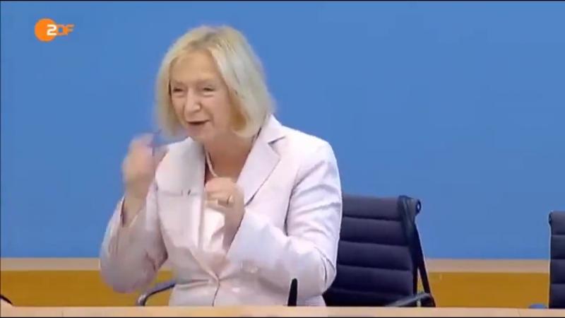 Johanna Wanka CDU BILDUNGSMINISTERIN rechnet 15 13=55