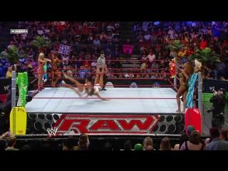 WWE QTV[☆[RAW 07.13.2009]Six Divas[Summer Spectacular]Kelly Kelly Gail Kim  Mickie James vs Maryse Rosa Mendes Alicia Fox]