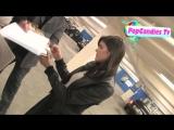 7.11.2011 Александра и Логан Лерман покидают вечеринку после мировой премьеры фильма Бессмертные