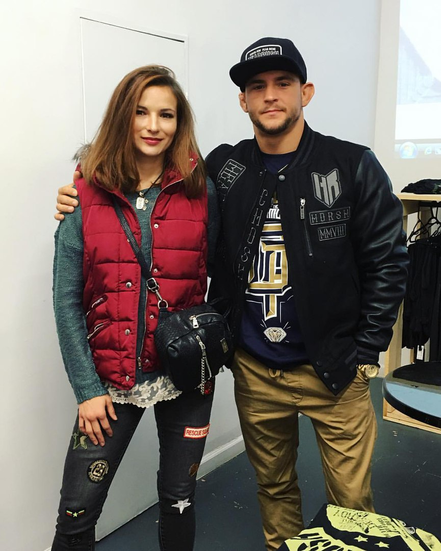 Марина Мороз и Дастин Порье