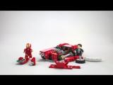 LEGO Marvel Super Heroes 76077: Железный человек - Стальной Детройт Наносит Удар