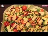 47.РЕЦЕПТИ Салат з креветок авокадо з руколою