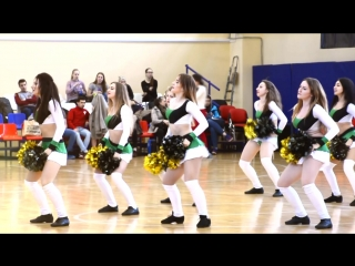 """Команда черлидеров """"black bears""""  на финале четырех"""