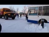 Застрял автобус incident_uka