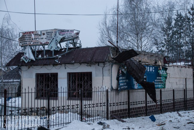 Сводка военных событий в Новороссии за 03.02.2017