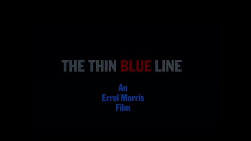ТРЕЙЛЕР | ТОНКАЯ ГОЛУБАЯ ЛИНИЯ | THE THIN BLUE LINE | RATTLEBOX