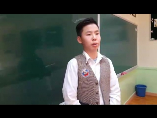 Речь Тараса Бульбы (Олзийсайхан, Монголия, 7 класс)