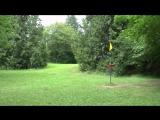 Бросил летающий диск в цель на расстоянии 260 метров