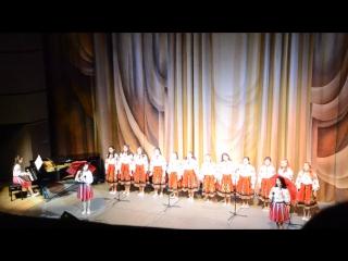 Украинская народная песня «Дождик»