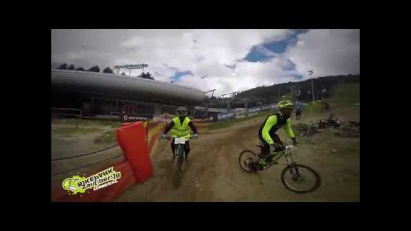 24h Downhill Race The Night 2016 Rennstrecke hautnah