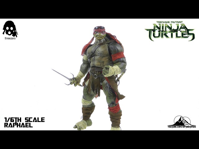 ThreeZero Teenage Mutant Ninja Turtles Raphael Video Review