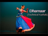 Dhamaar Taal   Technical Kathak Piece by Sunena Gupta