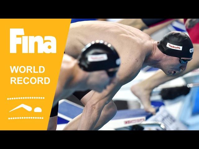 Russia | World Record 4x50m Medley | 2014 FINA World Swimming Championships Doha