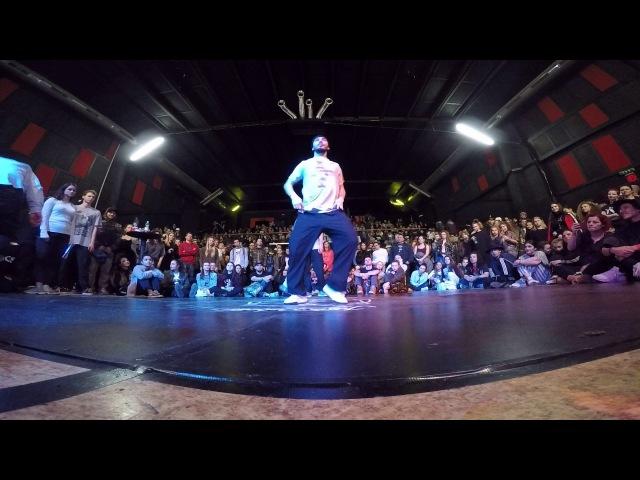MullaFero HipHop Preselection JusteDebout Bratislava 2017