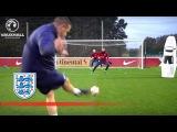 Double Goalkeeper Test - England U21 Inside Training