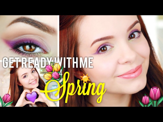 GET READY WITH ME for SPRING ☼ Frühlingslook ☼ Makeup, Haare Co! ❤