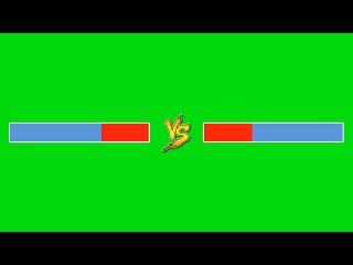 Barra de Versus #1 - Versus Bar #1 [Fundo Verde - Green Screen]