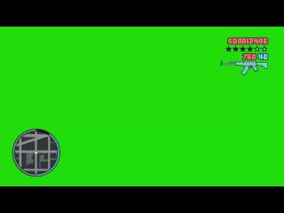 GTA Hud Animado #1 - Animated Hud from GTA #1 [Fundo Verde - Green Screen]