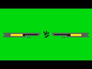 Barra de Versus #2 - Versus Bar #2 [Fundo Verde - Green Screen]