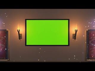 Cenário Mágico #1 - Magical Scenario #1 [Fundo Verde - Green Screen]