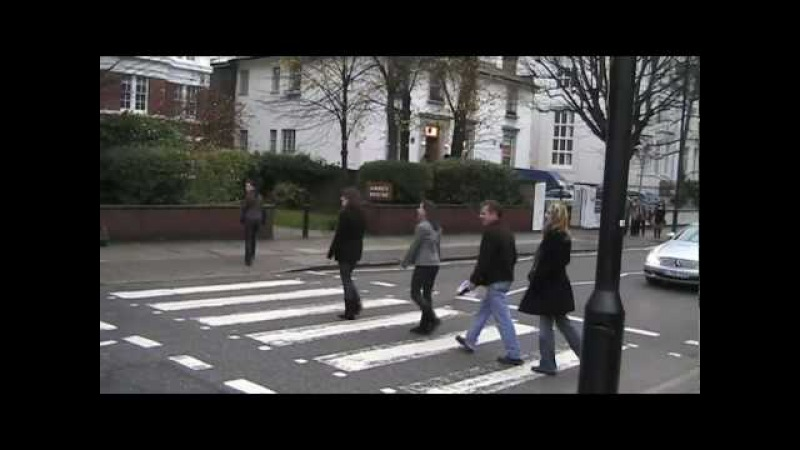 Crossing at Abbey Road