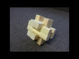 Японская головоломка из дерева своими руками.