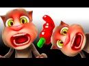 ✿ Мой говорящий кот Том Мультфильмы сериал Мой виртуальный котик Мультики игры ...