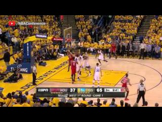 Houston Rockets vs Golden State Warriors - Full Highlights | Game 1 | April 16, 2016 NBA Playoffs