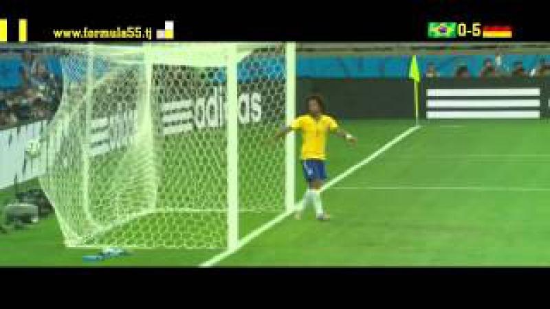 Германия vs Бразилия 1 2 Финал Чемпионат мира 2014