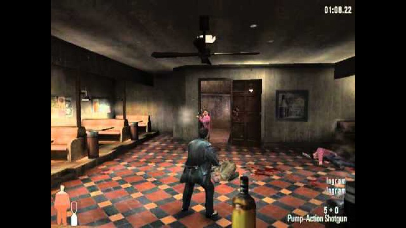 Max Payne Speedrun - NYM difficulty - [25:34]
