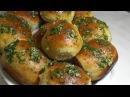 Пампушки с чесноком Как приготовить пампушки к борщу Удачный рецепт Dumplings with garlic
