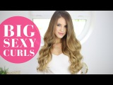 3 Easy Ways to Get BIG SEXY CURLS | Luxy Hair