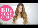3 Easy Ways to Get BIG SEXY CURLS Luxy Hair