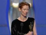 Tilda Swinton winning Best Supporting Actress Oscar