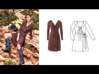 Журнал Бурда октябрь 10 2016 моден смотреть онлайн бесплатно (технические рисунки)