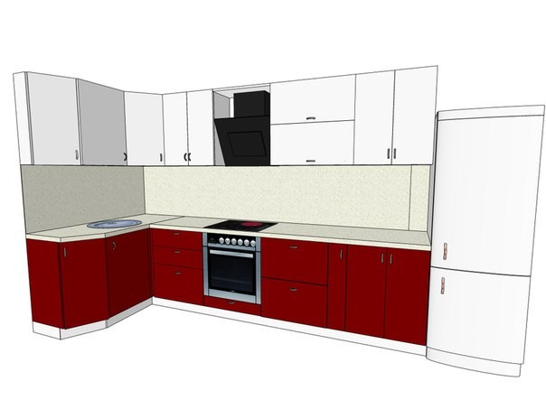 Кухню   установка