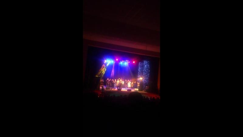 Флешмоб на концерте Олега Газманова