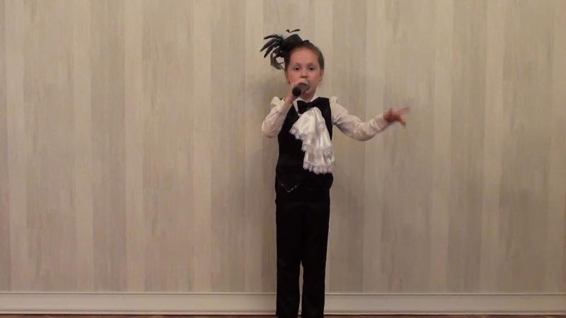 Мочаева София, г. Йошкар-Ола - Оркестр и Дирижёр (эстрадный вокал, соло, до 7 лет)