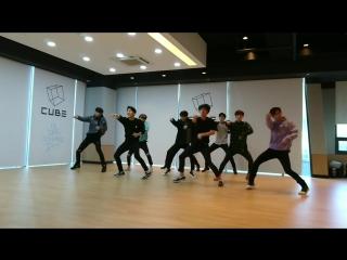 [VK][161109] Pentagon - Gorilla @ Dance Practice (short ver.)