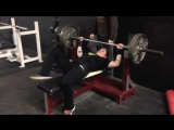 Rebecca Roberts 235 x 2 Bench Press Raw