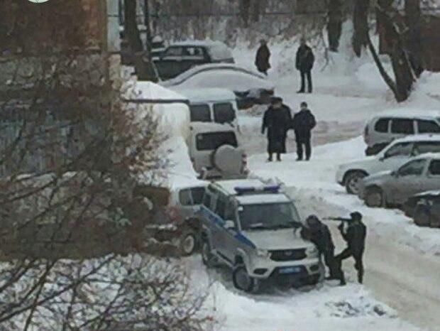 ВКазани прошла спецоперация позадержанию участников потасовки сострельбой