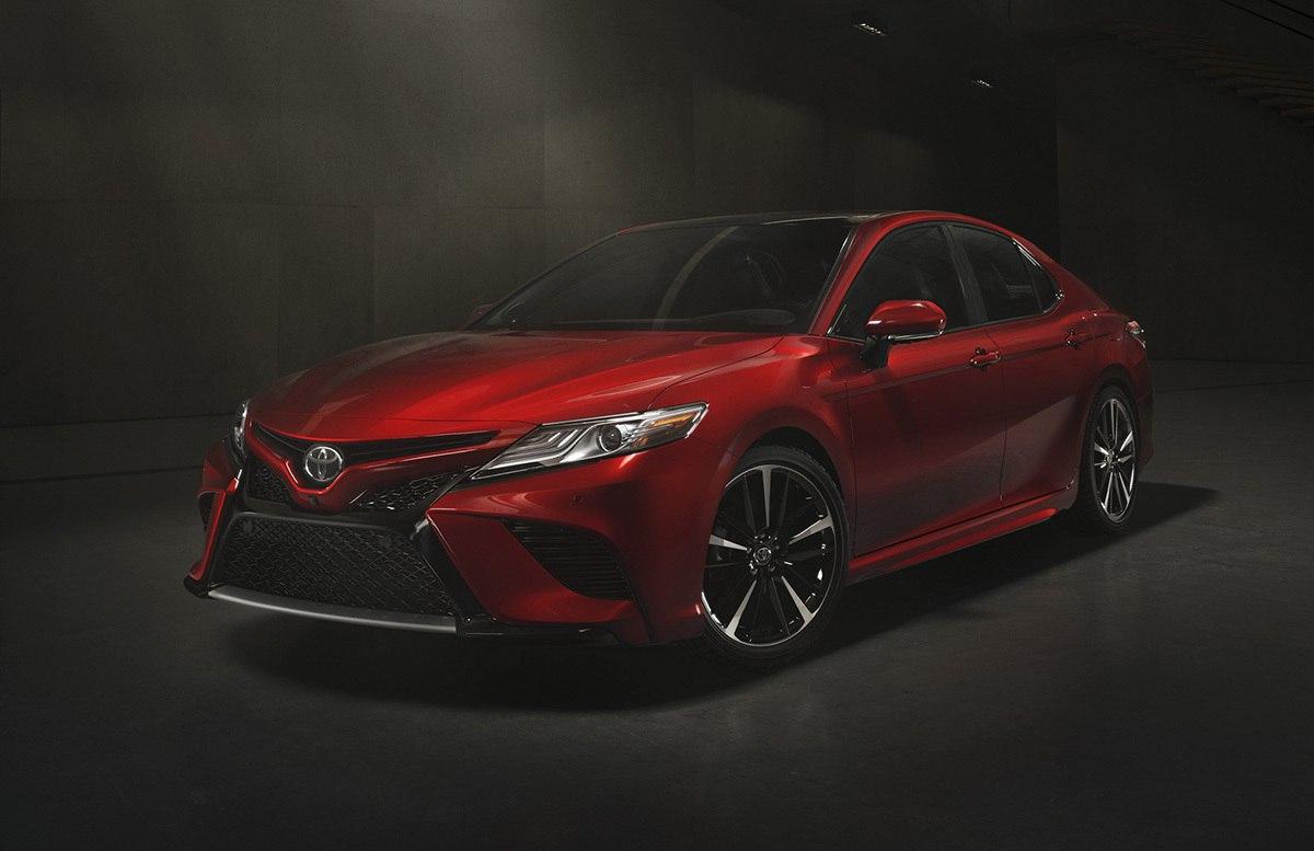 В Детройте рассекретили следующее поколение Toyota Camry