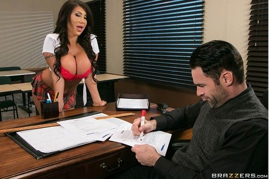 BigTitsAtSchool – August Taylor – What's My Grade Again