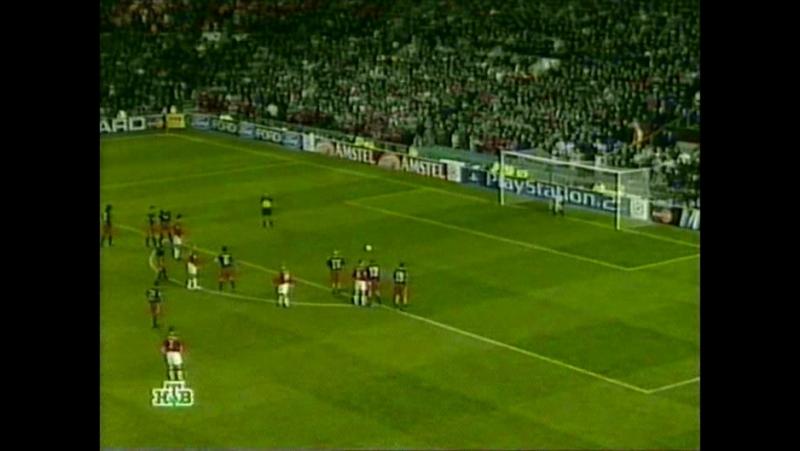 160 CL-2001/2002 Manchester United - Olympiakos Piräus 3:0 (23.10.2001) HL