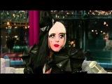 Lady Gaga Eating Paper